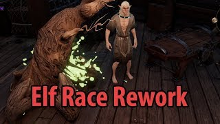 Elf Race Rework