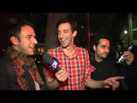 Cuentos Borgeanos video Entrevista CM (Up Front Sony Music ) - Octubre 2015