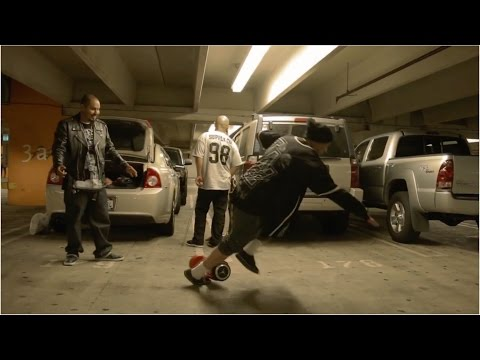 Cholos Try | Cholos Vs Hoverboard : Big Tokes™And Scar Try Segway #cholostry #cholohoverboard #ouch