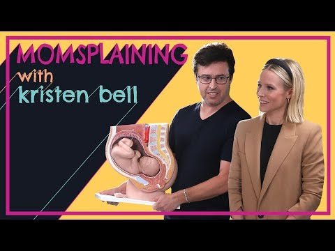 #Momsplaining with Kristen Bell: Vagina Myths with Andy Lassner