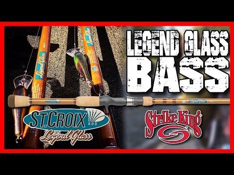 St.Croix Legend Glass - Xtreme Bass Angler