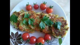 Оладушки с сыром! Потрясающий рецепт кабачков