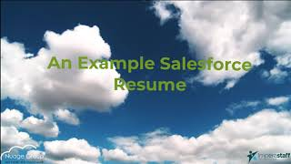 Salesforce Resume Review