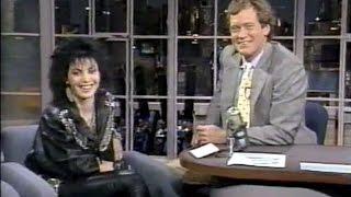 Joan Jett on Late Night, January 14, 1987