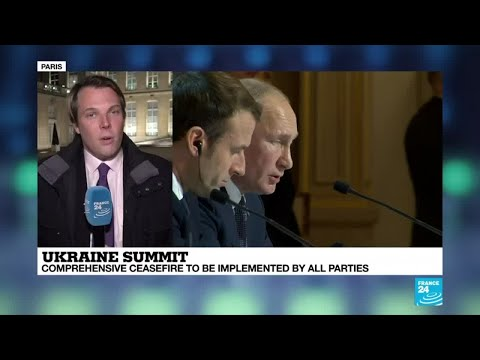Ukraine summit: 'Several sticking points still remain'