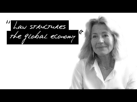 "Prof. #6 Horatia Muir Watt : ""Law structures global economy"""