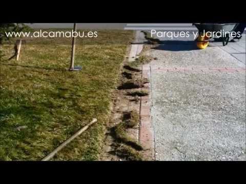 PERFILADO DEL CÉSPED. http://alcamabu.es/ DISEÑO, CONSTRUCCIÓN Y MANTENIMIENTO DE JARDINES