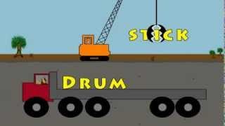 Vids4kids.tv - Words On Trucks - Compound Words