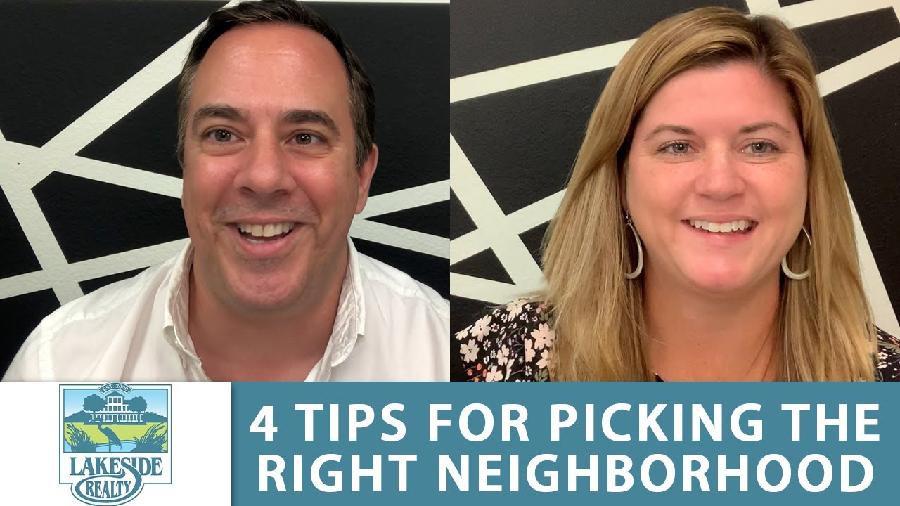 How Do You Know Whether a Neighborhood is Right for You?