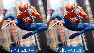 Spider-Man PS4 Pro VS PS4, A Graphical Powerhouse - Sony