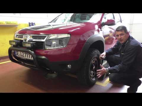 Dacia Duster Admirable mit Dotz Dakar und Radabdeckung