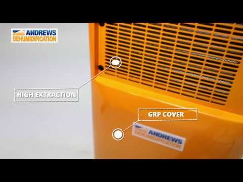 Andrews Dehumidification Launches Brand New FD40 Dryer!