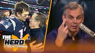 Colin Cowherd on the Patriots dynasty possibly ending and QBs gaining more power   NFL   THE HERD