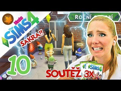 NAKRKNUTÍ DÉMONIČTÍ SKŘÍTCI + SOUTĚŽ ● The Sims 4 - ROČNÍ OBDOBÍ 10