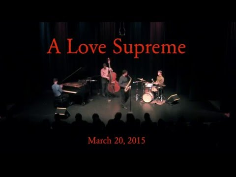 "Tribute to Coltrane's ""A Love Supreme."""