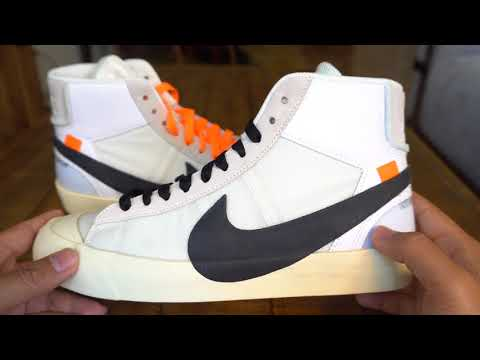 REVIEW & ON-FEET: Off-White x Nike Blazer