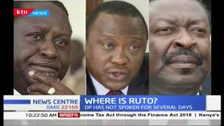 Is Ruto's silence a strategy to get to the house on the hill