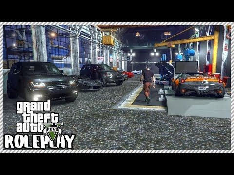 GTA 5 ROLEPLAY - Gun Fight Breaks Out At New Car Garage Grand Opening | Ep. 329 Civ