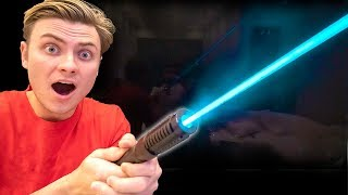 Video I FOUND A REAL STAR WARS LIGHTSABER!! MP3, 3GP, MP4, WEBM, AVI, FLV Agustus 2019