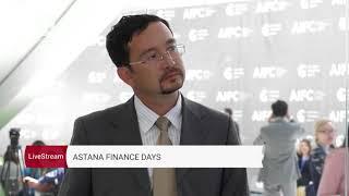 Интервью с Линаром Якуповым | Astana Finance Days