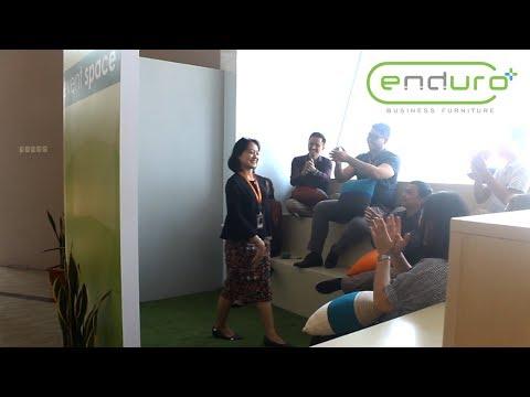 Enduro Business Furniture menampilkan furniture gaya baru yang biasa kita sebut sebagai coworking space.  bisa ke lokasi untuk survey : Taman Tekno BSD, Blok F1, Unit E, Tangerang Selatan, Banten  Telp : 021 7587 8787 WA : 0813 8080 2080 Website : enduro.co.id