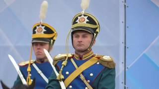 4 Рота специального караула Президентского полка Строевые приемы