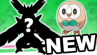 Rowlet  - (Pokémon) - New Rowlet Evolutions!! - Pokémon Sun and Moon New Starter Pokémon Predictions