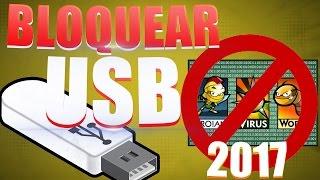 Como Proteger mi USB vs Virus al Maximo // Inmunizar / Mejor que Antivirus 2017