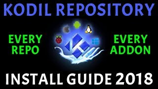 KODIL REPOSITORY! HUGE AMOUNT OF ADDONS REPO