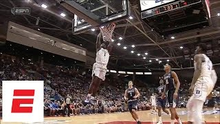 Zion Williamson & R.J. Barrett highlights Duke vs. Toronto: Barrett 35 pts, Zion 24 pts | ESPN - Video Youtube