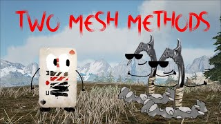 How To MESH.....ANYWHERE Vol. 2