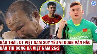 VN Sports 26/2 | HLV Park thấy có lỗi với tuyển thủ VN, Văn Lâm bị loại trận gặp Indonesia?