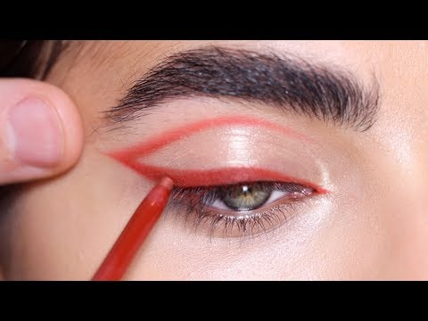HOW TO: RED EYELINER | Hindash