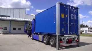 ET VRS SE 35 - VRS-EUROTECHNIK Vertikales Absenksystem – Seecontainer 20 Fuß