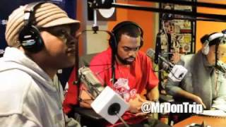"""Don Trip """"Russell Simmons"""" Freestyle #SwayintheMorning"""