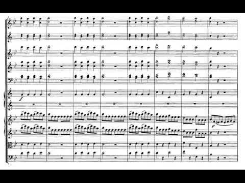 Mozart Symphony No 40 in G Minor, K.550, 4ºmov Molto Allegro (Score)
