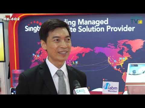 Singtel talks to CABSAT TV at #CABSAT2019