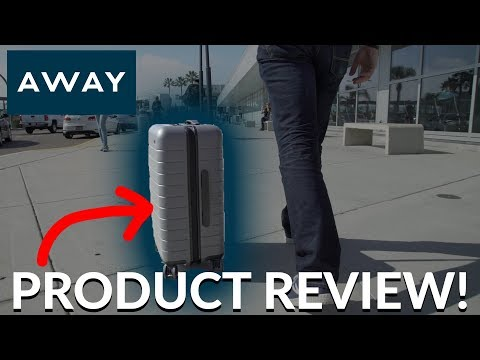 Away Suitcase Product Review **not sponsored**
