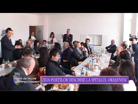 Emisiunea Vălenii de Munte la timpul prezent – Ziua Portilor Deschise la Spitalul Orășenesc– 17 aprilie 2015