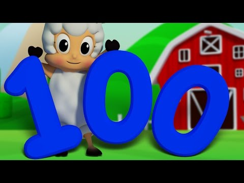 Number Song 1 to 100 | Learn To Count | Big Number Song | 3D Numbers Rhyme Song