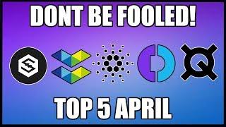 Top 5 Cryptocurrencies in April 2019!! *MASSIVE GAINS*
