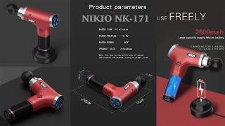 Test sức mạnh của Súng massage gun Nikio NK-171 từ Nhật Bản