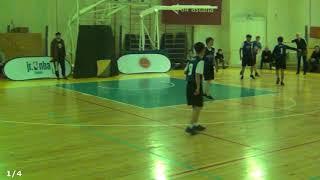 "Jr.NBA. Kazakhstan. Almaty. Финал (юн). ""Школа № 49"" vs ""Гимназия № 35"". 10-04-2018"