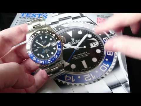 Rolex Nachbau oder ernsthafte Uhr? / Davosa Ternos Professional GMT