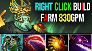 Silver Edge+Desolator [Wraith King] Best Items For Free MMR With 830GPM Patch 7.18 | Dota 2 FullGame