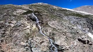 "Kite Lake Snow Melt and Waterfalls // 7"" FPV Freestyle // TBS Tango 2"