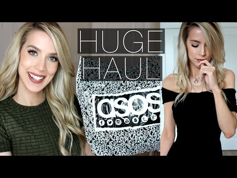 Huge ASOS Haul + Try On | Is Asos Tall Tall Enough??
