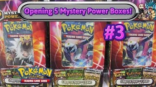 Opening 5x Mystery Power 2 Boxes (#3)! Pokemon TCG unboxing