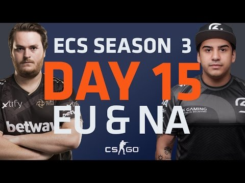 ECS S3 D15: fnatic vs Astralis // NiP vs Godsent // SK Gaming vs CLG // Immortals vs Renegades