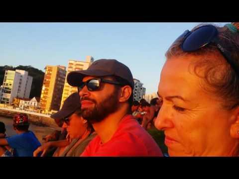 Repórter Favela no por do sol mais lindo do Brasil